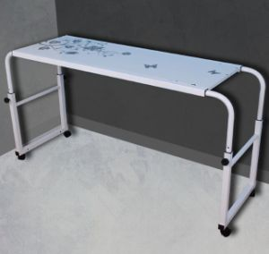 China Height Adjustable Over Bed Computer Table Desk Furniture