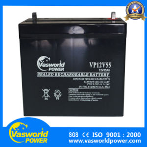 Nigeria Market Wholesale Price 12V 55ah UPS Battery pictures & photos