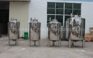 Stainless Steel 304/316 Liquid Sterile Sanitary Water Storage Tank pictures & photos