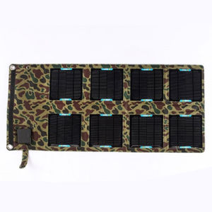 24W 5V 18V USB DC 2 in 1 Foldable Solar Charger for Cellphone Laptop