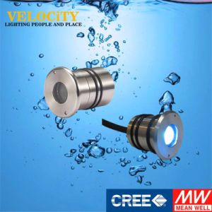 1W Ce Approved Remote Control Underwater Lamp RGB LED Outdoor Light