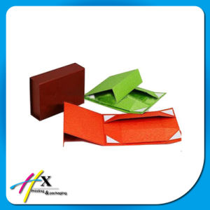 Printing Fancy Paper Gift Cardboard Custom Foldable Clothing Packaging Box pictures & photos