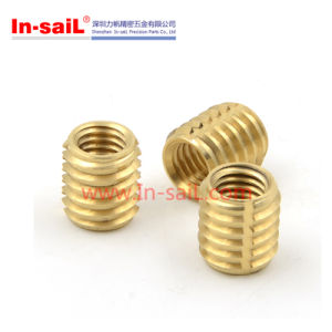 Self-Cutting Thread Insert for Plastic Parts pictures & photos