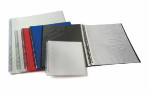 Office Supply Stationery File Folder Display Book Clear Book with Inner Pocket Filling