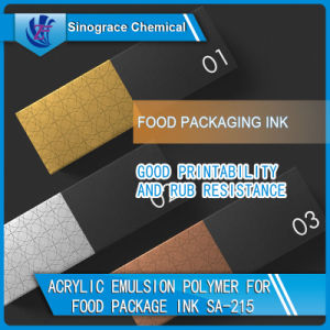 Acrylic Emulsion Polymer for Food Package Ink