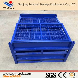 Stackable Heavy Duty Wire Mesh Cage for Warehouse Storage pictures & photos