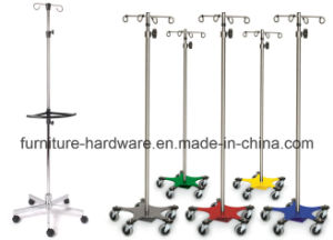 Medical Furniture Aluminum Five-Leg Chair Base for Hospital IV Poles pictures & photos