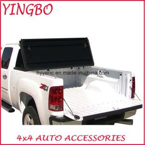 China Aluminum Hard Tri Fold Tonneau Cover For Toyota Tundra 6 5 Double Cab 07 15 China Tonneau Cover Tri Fold Tonneau Cover