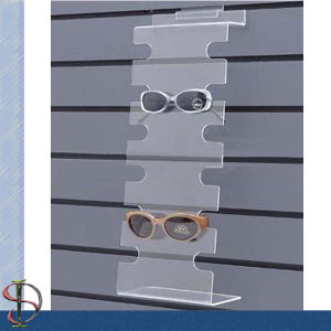 Acrylic Slatwall 6 Pairs Sunglass Display