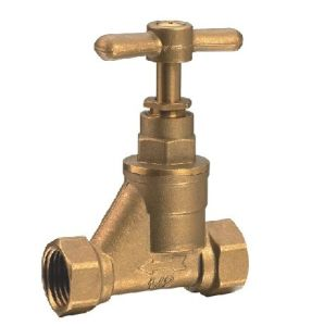 (HE-3009) Gate Valve with Brass Handle for Water