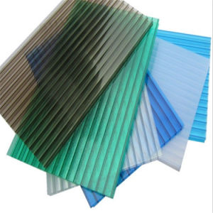 Polycarbonate Sheet with Anti-UV Micron 50 UV Coating pictures & photos