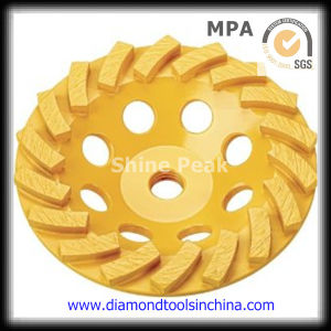 Diamond Cup Wheels for Polishing Concrete and Epoxy Resin Floor