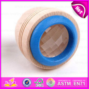 Colorful Mini Wooden Toys for Children Magical Kaleidoscope Bee Eye Effect W01A119 pictures & photos