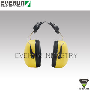 CE EN352 Helmet Mounted Earmuffs Noise Protective Ear Muffs pictures & photos