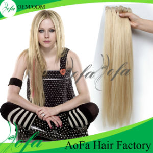 #613 Blond Silky Straight Virgin Brazilian Hair No Distributor pictures & photos