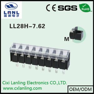 Ll28h-7.62 Black Barrier Terminal Blocks