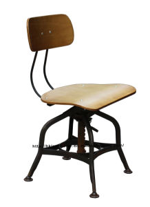 Industrial Dining Turner Vintage Toledo Wooden Plywood Bar Stools Chairs pictures & photos