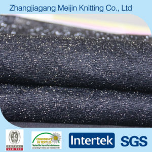 Black 100% Nylon Silver High Stretch Tulle Mesh Fabric(Mj5036