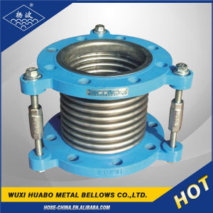 Stainless Steel Metal Bellows Flange Expansion Joint pictures & photos