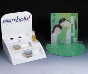 Custom Acrylic Makeup Display, Acrylic Cosmetic Display Stand pictures & photos