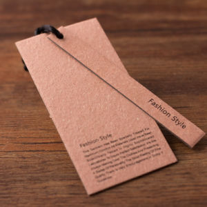 Kraft Paper Garments Tags Price Tag for Clothing pictures & photos
