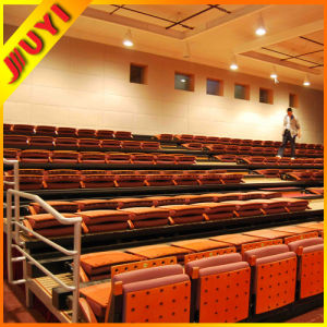 Jy-780 Hockey Mobile Popular Games Folding Manufactory Plastic Seats Retractable Seating System Used Bleachers for Sale