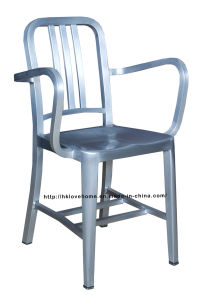 Replica Emeco Dining Restaurant Coffee Aluminum Armchair Navy Chair pictures & photos