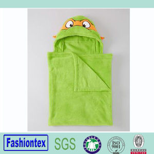 Kids Poncho Towel Newborn Hooded Towel Animal Bath Towel pictures & photos