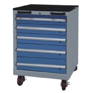 Westco Mobile Cabinet with Drawers (Workshop Trolley, Rolling Cabinet, MDC-0850-5)