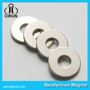 Sintered NdFeB Magnets Radial Magnetization Ring Magnet