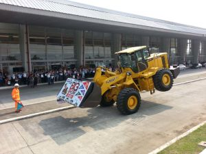China high Quality 5ton wheel loader with CE & ISO9001 pictures & photos