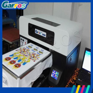 2016 China Manufacture A3 3D Flatbed Digital Direct 100% Cotton Fabric Textile T-Shirt Printer pictures & photos