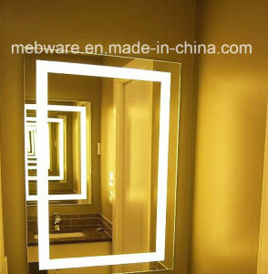 2016 New Touch Screen Simple Style LED Bathroom Mirror