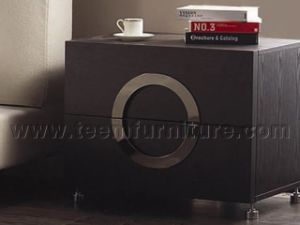 2016 New Style Night Stands Unique Night Stands PS-B011 Dark Wood Night Stands Modern High Gloss White Night Stand pictures & photos