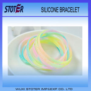 China Manufacturer Promotion Cheap Wristbands Silicone Producer