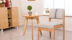 Solid Wooden Chairs Living Room Chairs Colorful Chairs Fabric Chairs Coffee Chairs (M-X2531) pictures & photos