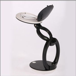3X LED Folding Desktop/Table Mini LED Reading Magnifying Glass (EGS-G-666-63) pictures & photos