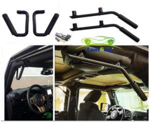 J039 Jeep Wrangler Jk Metal Handle Black Solid Steel Grab Bar Car  Accessories For Jeep