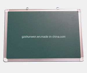Popualr Magnetic Chalkboard for School and Office with Hanger a; Uminum Frame CE, SGS, ISO Certificate Model No Sw-11