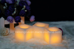Square Shape Wax Candle Set (HR01S)