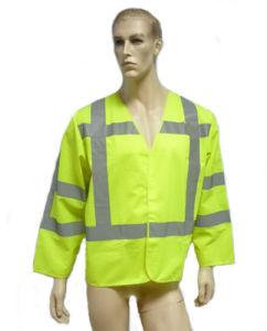 Hi-Viz Safety Reflectice Parka with Long Sleeve pictures & photos