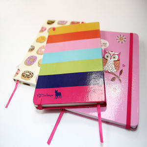 Hard Cover Mini Notebook New Arrival with Rubber Band pictures & photos