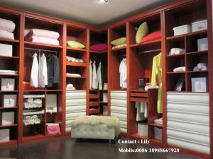 High Glossy White Open Door Wardrobe (FY0568) pictures & photos
