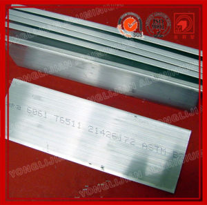 Corrosion Resistant Aluminum Flat Bar 6061 6063 pictures & photos