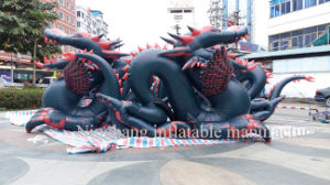 Hot Sell Inflatable Cartoon Giant Animal Inflatable Dragon for Sale