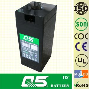 2V300AH AGM, Gel Rechargeable Battery Deep Cycle Solar Power Battery Rechargeable Power Battery Valve Regulated Lead Aicd Battery for Long-Life Battery pictures & photos