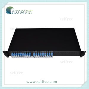 FTTH Fiber Optical PLC Splitter 1X8 with 19rack (D3) pictures & photos