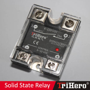 25A DC-DC Single Phase Solid State Relay SSR (SSR-DD25) pictures & photos