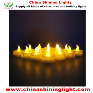 Popular Best Selling Warm White Yellow Color LED Tea Light