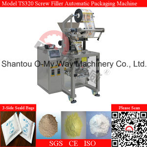 PLC System Thick Powder Spices Packaging Machine pictures & photos